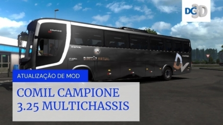 Photo of Comil Capione 3.25 Multichassis V1.1 ETS2 (1.42.x)