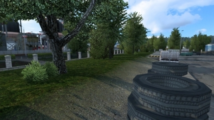 Photo of Extended Garage 27.10.2021 ETS2 (1.42.x)