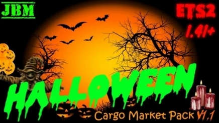 Photo of Halloween Cargo Pack V1.1 ETS2 (1.41.x)