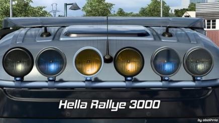 Photo of Hella Rallye 3000 V1.6 ETS2 (1.42.x)