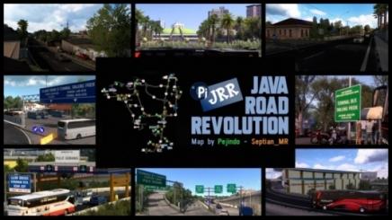 Photo of Java Road Revolution V0.3 ETS2 (1.42.x)