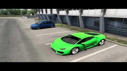 Photo of Lamborghini Huracan 5.2L V10 Sound ETS2 (1.42.x)