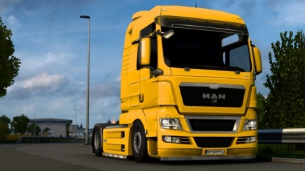Photo of Man Tgx Low Chassis ETS2 (1.42.x)