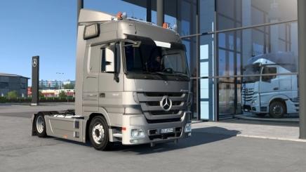 Photo of Mercedes-Benz Actros Mp3 V1.2 ETS2 (1.42.x)