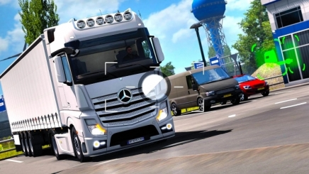 Photo of Mercedes-Benz Tuning ETS2 (1.42.x)