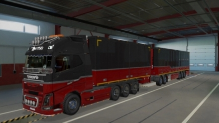 Photo of Rpie Volvo Fh16 2012 Truck ETS2 (1.42.x)