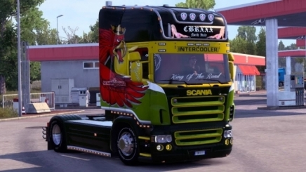 Photo of Scania Rjl R Griffin Wing Skin V1.0 ETS2 (1.42.x)