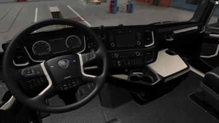 Photo of Scania S & R 2016 – Black – Beige Interior ETS2 (1.42.x)