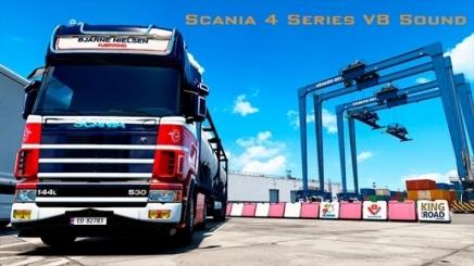 Photo of Scania Series 4 V8 Euro 3 Sound ETS2 (1.42.x)