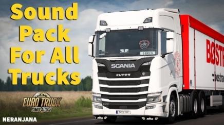 Photo of Scs Truck Sounds Reworked Megapack V6.0 ETS2 (1.42.x)