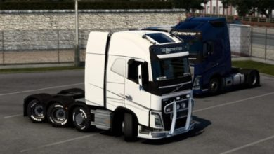 Photo of Volvo Trucks All Steerable Axle V1.0 ETS2 (1.42.x)